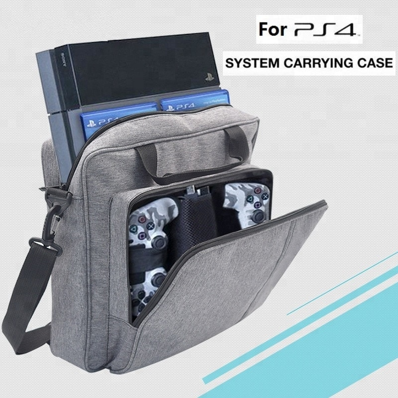 Sony Yoteen Storage Bag for PS4 Slim with Protective Shoudler Travel - 1