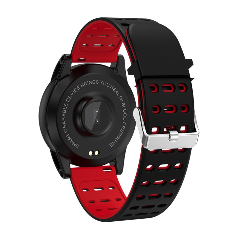 Sports Smart Bracelet - 1.3 Inch IPS Screen, 220mAh Battery, Pedometer, Blood Pressure Monitoring Gray - 8