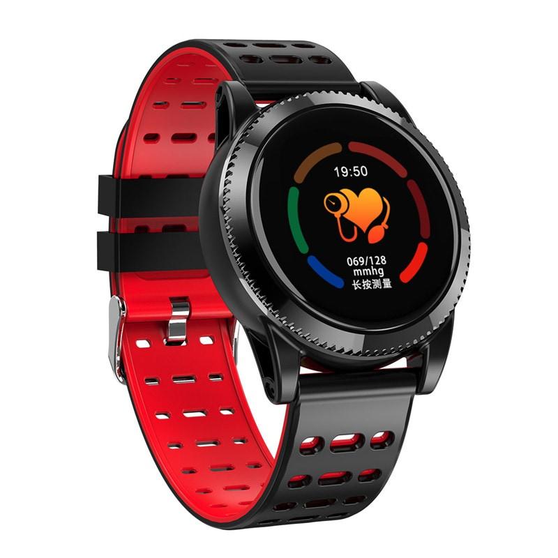 Sports Smart Bracelet - 1.3 Inch IPS Screen, 220mAh Battery, Pedometer, Blood Pressure Monitoring Gray - 9