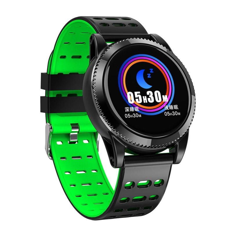 Sports Smart Bracelet - 1.3 Inch IPS Screen, 220mAh Battery, Pedometer, Blood Pressure Monitoring Gray - 1