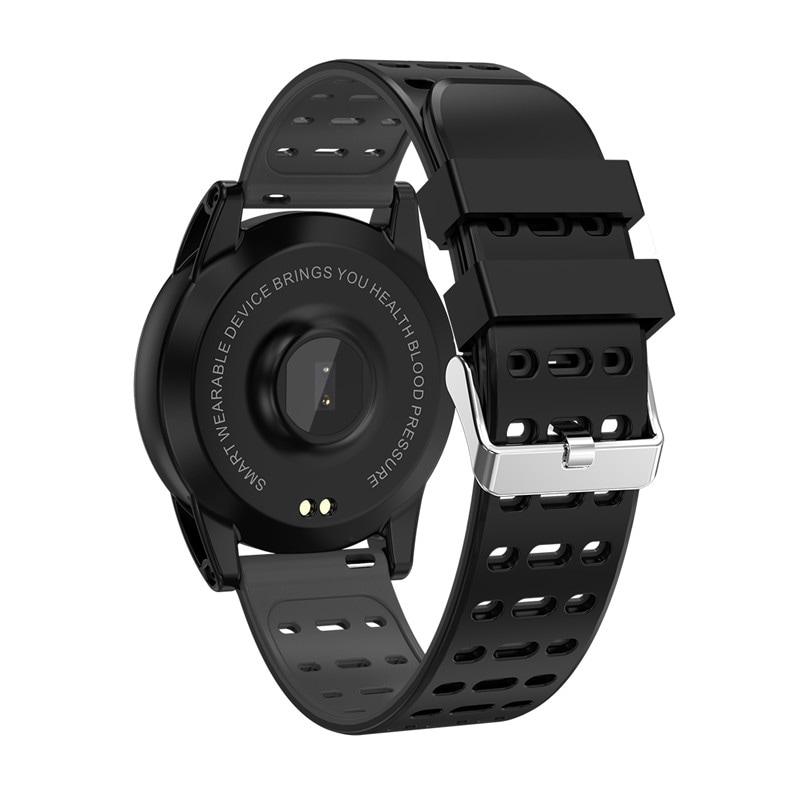 Sports Smart Bracelet - 1.3 Inch IPS Screen, 220mAh Battery, Pedometer, Blood Pressure Monitoring Green - 6