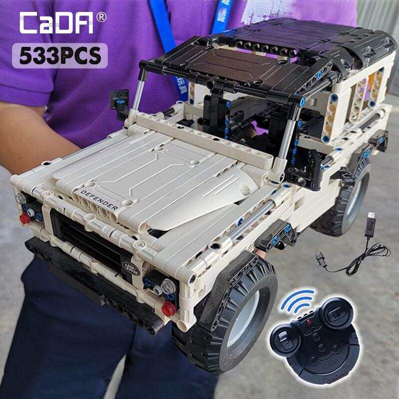 SUV DIY city brick Remote Car - 2