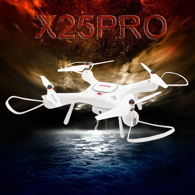 SYMA X25Pro Drone - GPS Positioning, One Key Takeoff/Landing, Headless Mode, Altitude Hold - 10