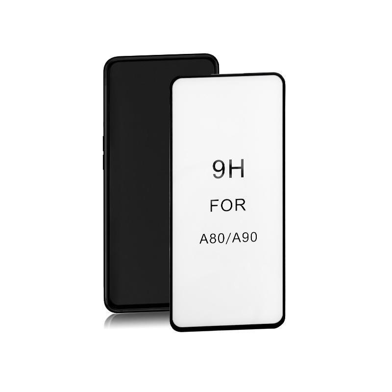 Szkło Ochronne Do Samsung Galaxy A90   6D   Pełne   Czarne - 1