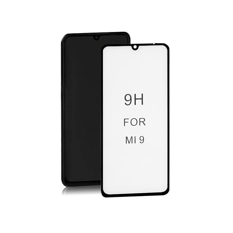 Szkło Ochronne Do Xiaomi Mi9 | 6D | Czarne - 1