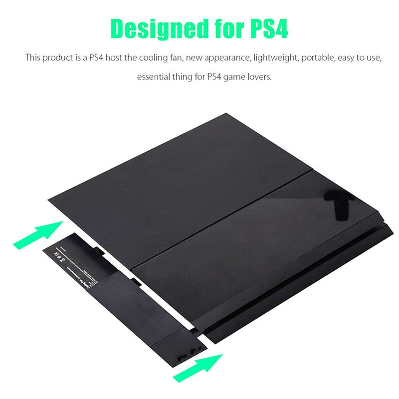 Temperature Control Cooler For PS4 5-Fan Playstation - 6