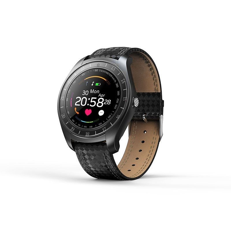 V10 Waterproof Sport Smart Watch - Blood Pressure Heart Rate Monitor for iOS Android Blue - 6