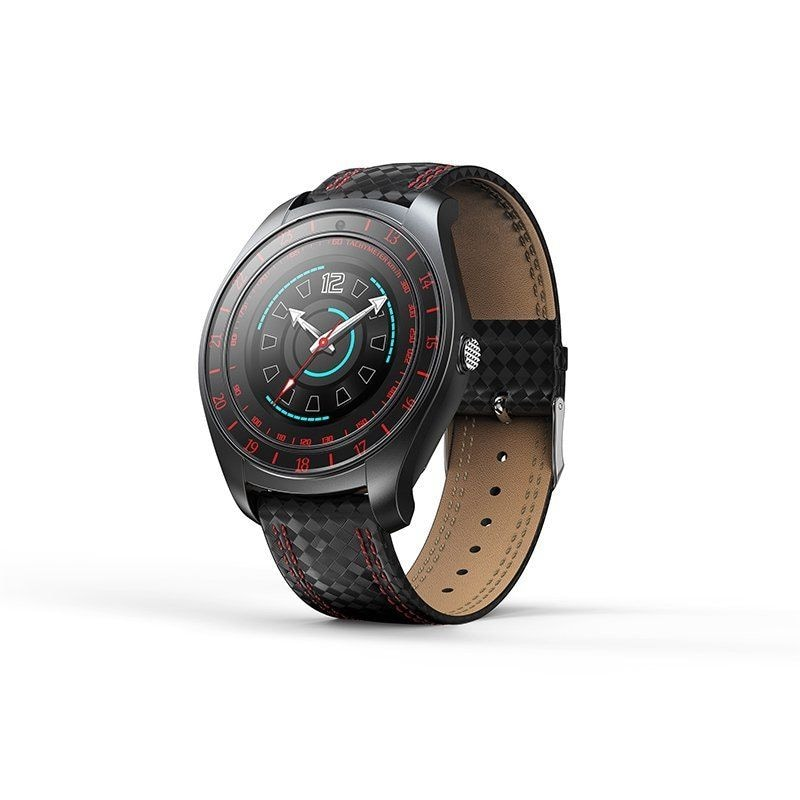 V10 Waterproof Sport Smart Watch - Blood Pressure Heart Rate Monitor for iOS Android Red - 5