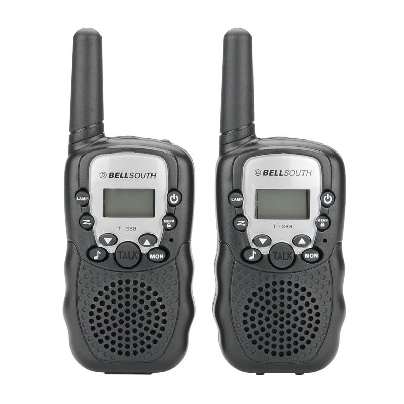 Walkie Talkie - 5 To 8KM Range, 22 USA Channels, 8 Europe Channels, Flash Light, Battery Indicator - 1