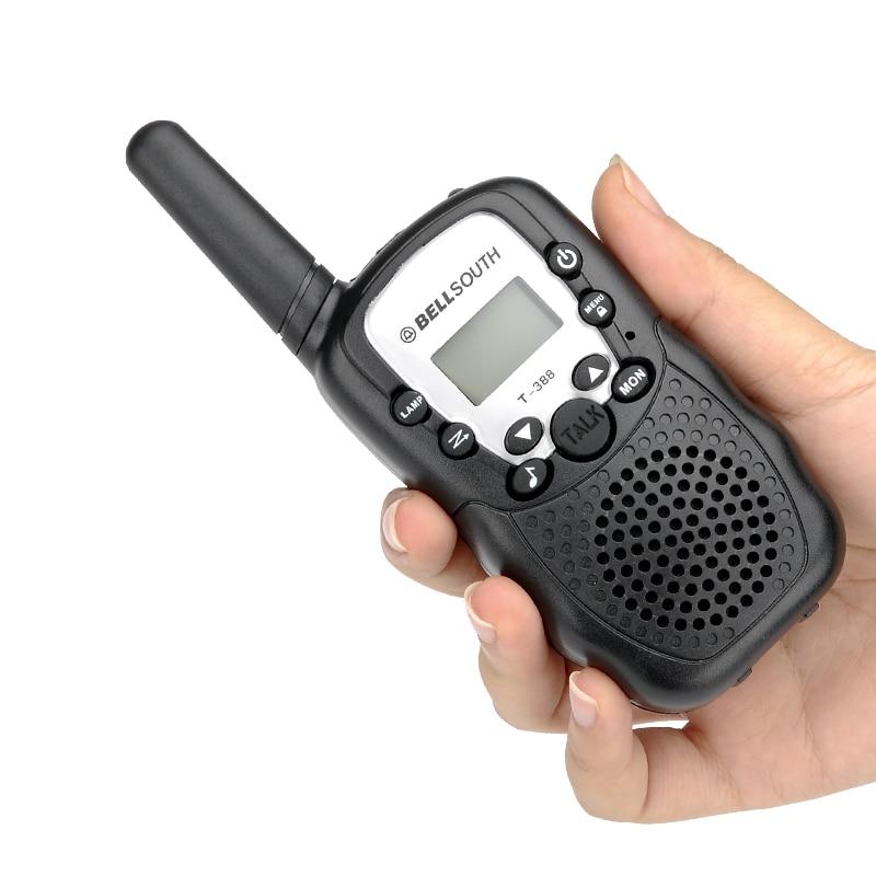 Walkie Talkie - 5 To 8KM Range, 22 USA Channels, 8 Europe Channels, Flash Light, Battery Indicator - 5