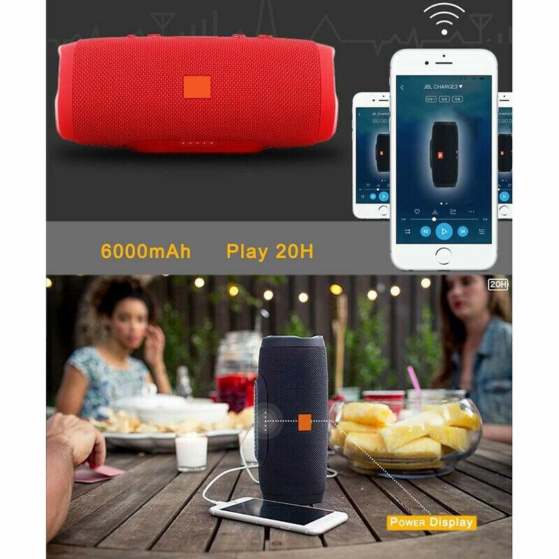 Waterproof Portable Bluetooth Speaker Wireless Bass Subwoofer Camouflage - 4