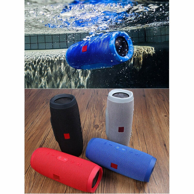 Waterproof Portable Bluetooth Speaker Wireless Bass Subwoofer Camouflage - 2