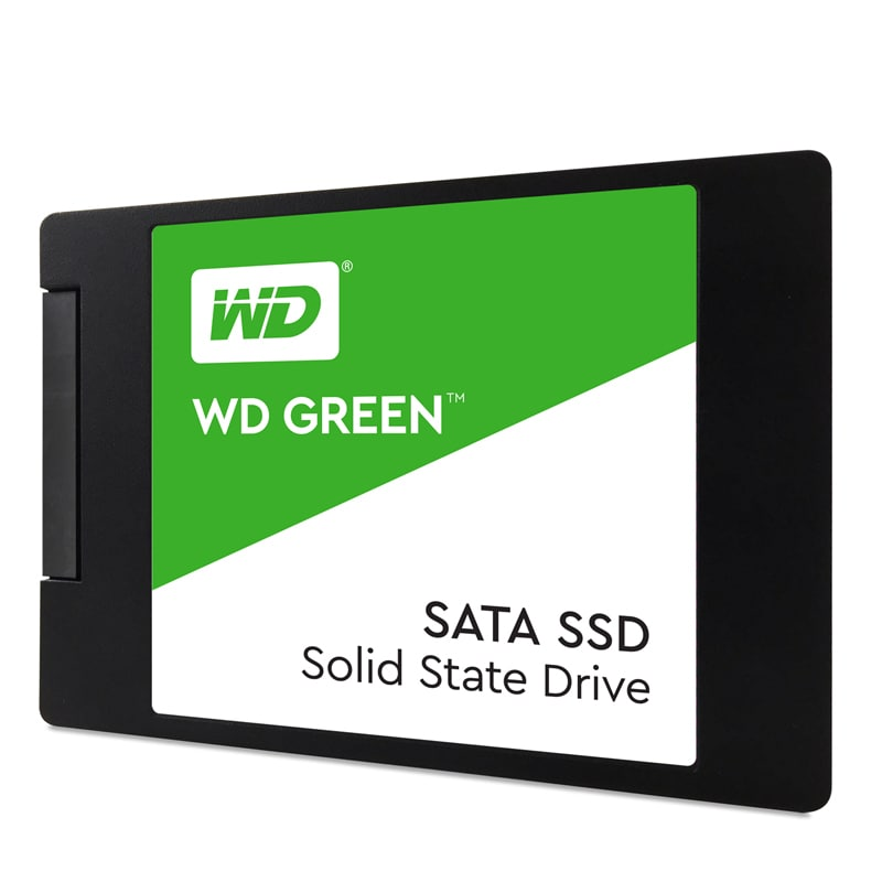 WD Green 2.5Inch 240GB SATA3 SSD 540MB/s Read 2.5inch/7mm - 2