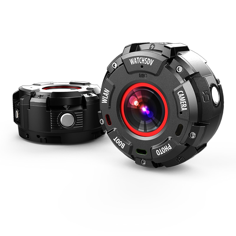 Wearable and Detachable Smart Sports Camera - 1080P, APP, Wifi, Magnetic Base, Waterproof, Hunting Camera - 1