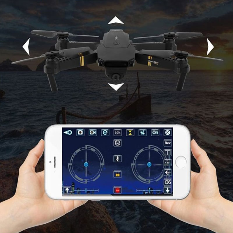 WIFI FPV with Wide Angle HD Camera High Hold Mode Foldable Arm RC Quadcopter - 6