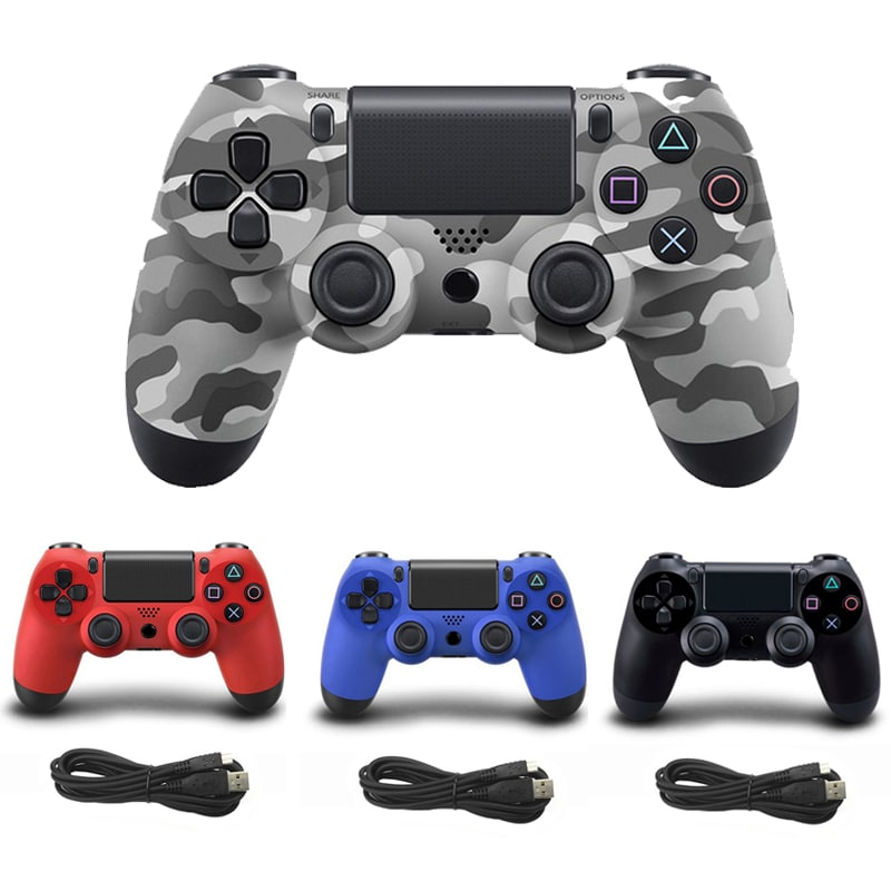 Wired Game Controller for Sony PS4 Gold - 2