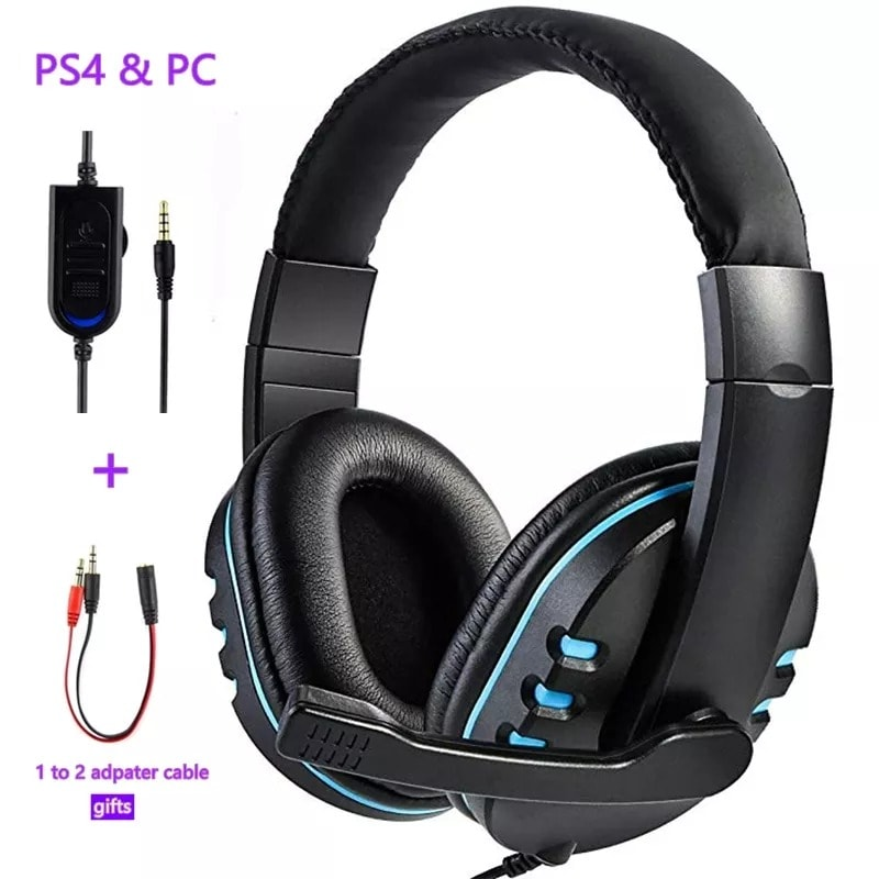 Wired gaming Headphones Red - 2