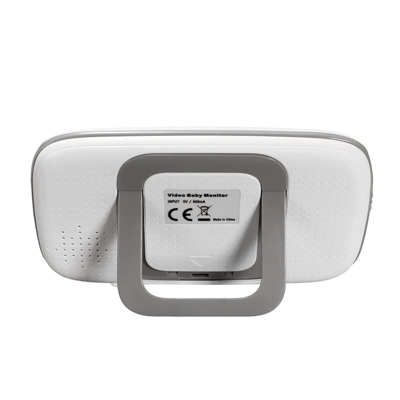 Wireless Baby Monitor - 3.2 Inch Display, Temperature Monitor, Dual-Way Audio, 2.4GHz Wireless, Play Songs - 6