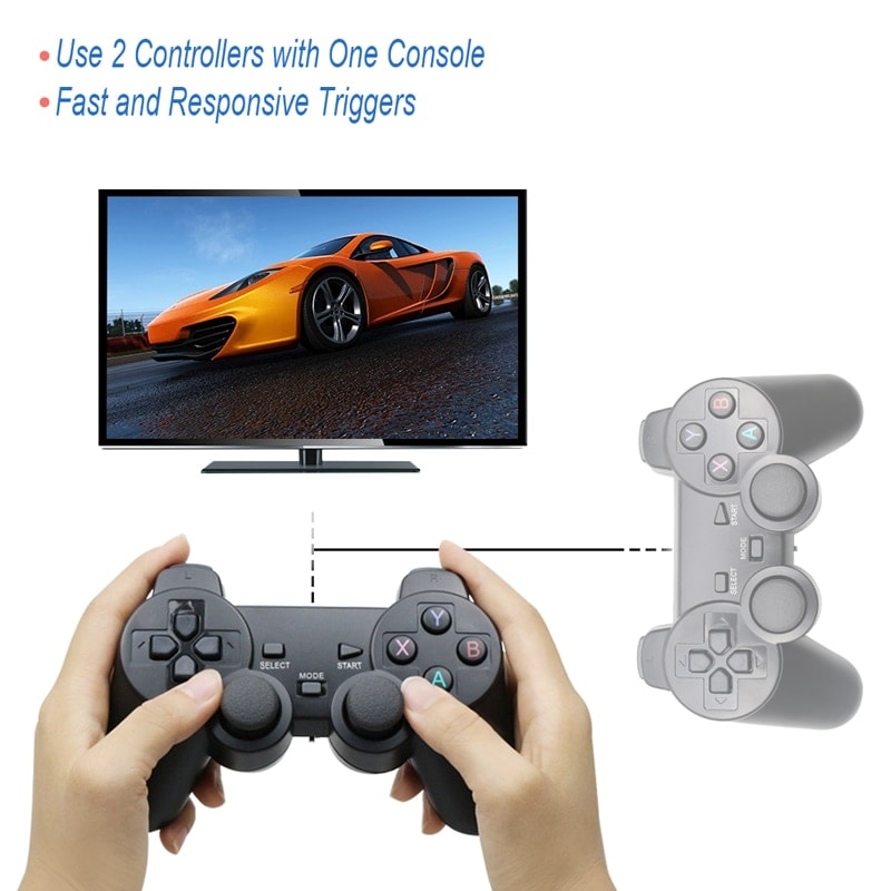 Wireless Controller 2.4G USB For PS3, Android Phone, PC, PS3, TV Box Red - 5