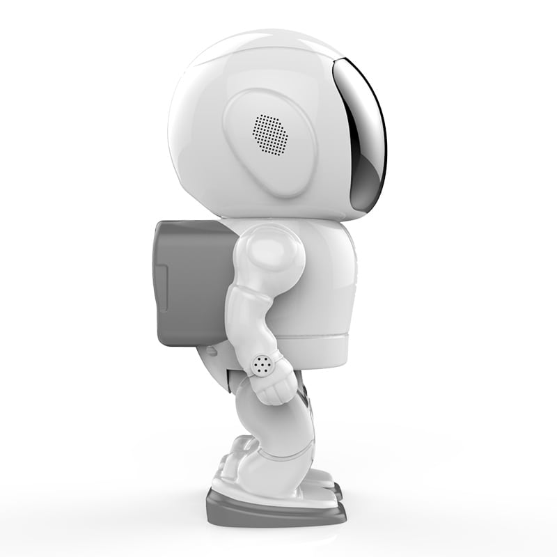 Wireless IP Camera - Robot Shaped, Pan & Tilt, 1280x960, Two-Way Audio, Phone App, Alarm Notification - 4