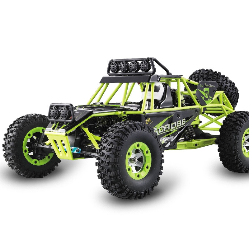 WLtoys 12428 1:12 4WD Crawler RC Car Electric Four-wheel Drive Climbing RC Car with LED Light RTR - 1