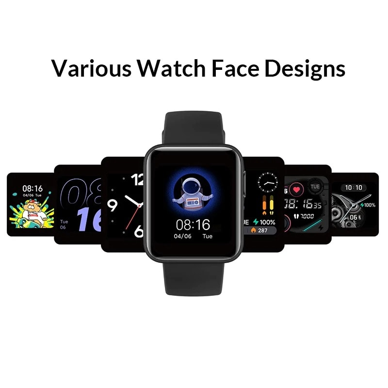 Xiaomi Mi Watch Lite Bluetooth Global Version Blue - 4