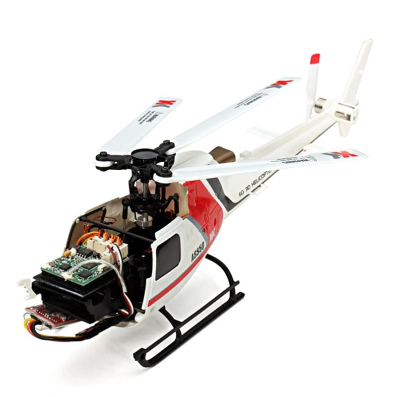 XK K123 RC Helicopter Without remote control - 7