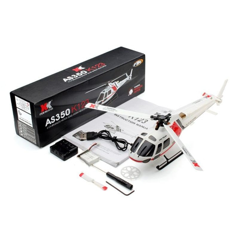 XK K123 RC Helicopter Without remote control - 6