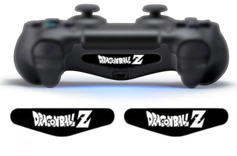2 pcs LED Skin Stickers Dragon Ball Z - Playstation 4 - 1