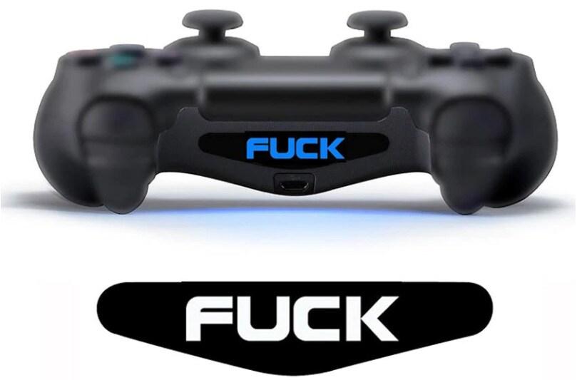 2 pcs LED Skin Stickers Playstation 4 - 1