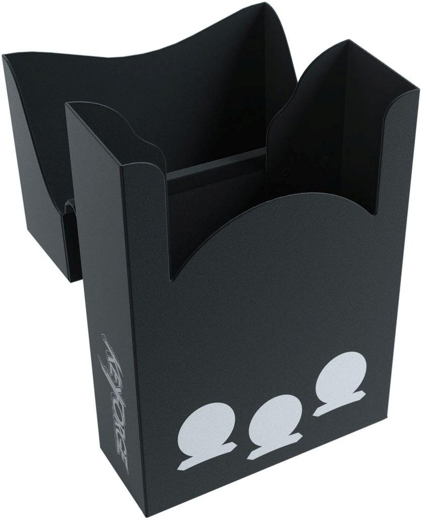 Pudełko na talię KeyForge - Aries Black Deck Box - Czarne - 3