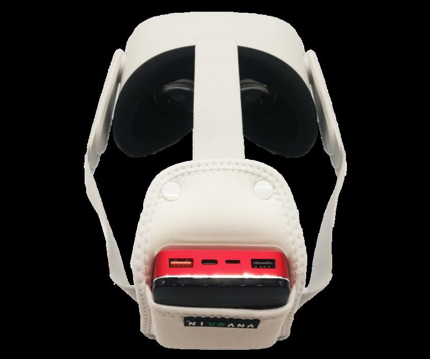 Powerbank dla Oculus Quest 2 z uchwytem i kablem - 2
