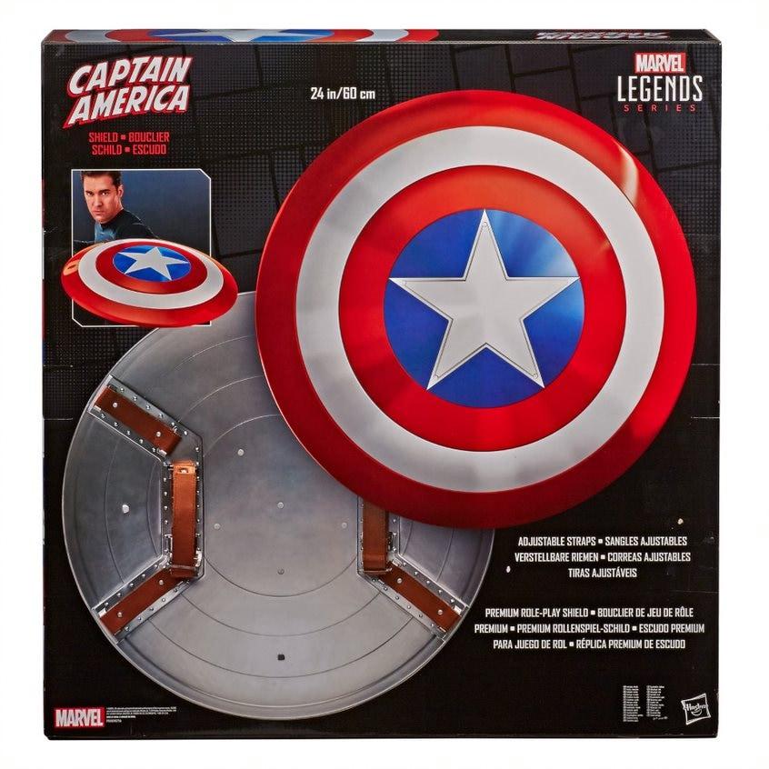 Captain America Shield - Marvel Legends Series (80th Anniversary) - Hasbro Multi-Colored - 2