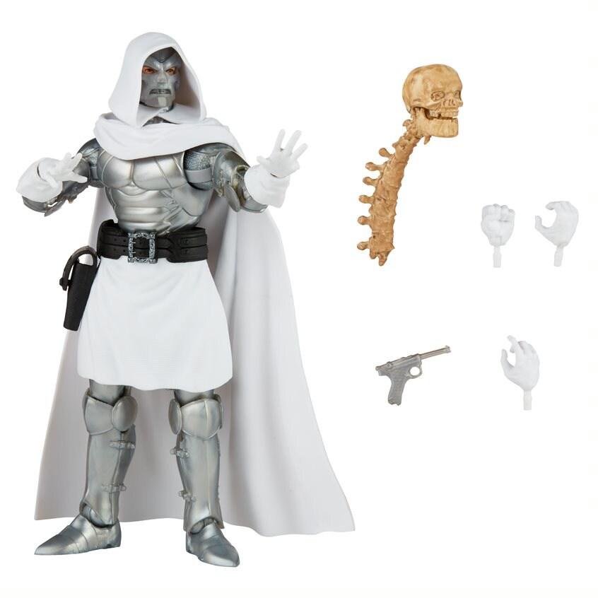 Dr. Doom - Marvel Legends Build a Figure - Hasbro White - 2