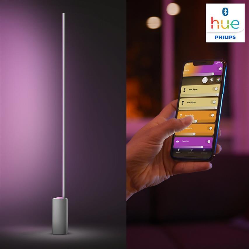 Philips Hue   Lampa podłogowa LED Signe aluminium 2500 lm, 32 W smart home - 3