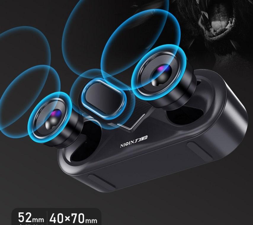 S6 Wireless Bluetooth Speaker Waterproof Portable Outdoor Loudspeaker, Black - 7