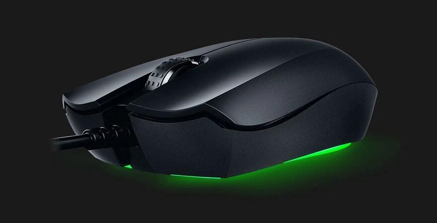 Razer Abyssus Essential - Gaming Mouse, 7200 dpi - Black - 6