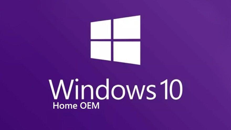 Microsoft Windows 10 OEM Home PC Microsoft Key GLOBAL - 3
