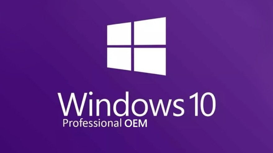 Microsoft Windows 10 OEM Pro PC Microsoft Key GLOBAL - 3
