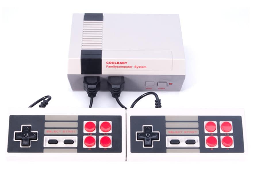 HDMI NES Mini Classic Edition Retro Video Games Console with 2 Controllers Built-in 600 Classic Nintendo Games - 5