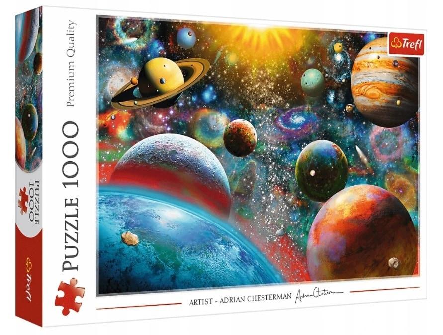 Puzzle - Kosmos - 1000 el. Multi-Colored - 1
