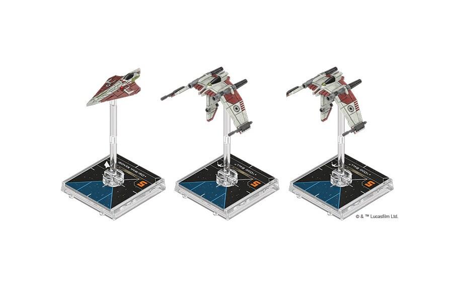 Star Wars: X-Wing - Pakiet eskadry - Strażnicy Republiki - 2