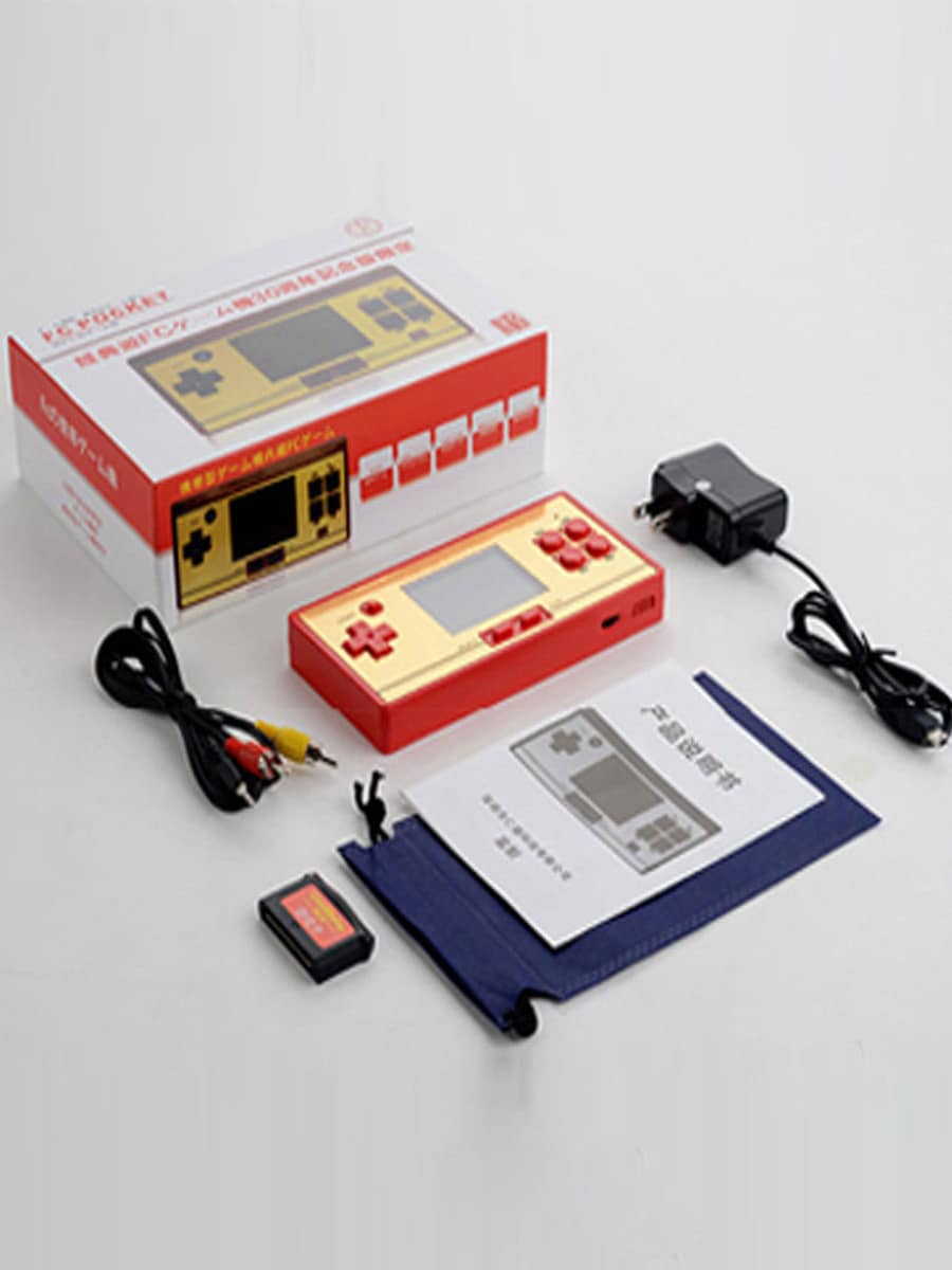 Coolbaby RS-20 FC Game Children Handheld Player Color Screen Video Game Console - 2
