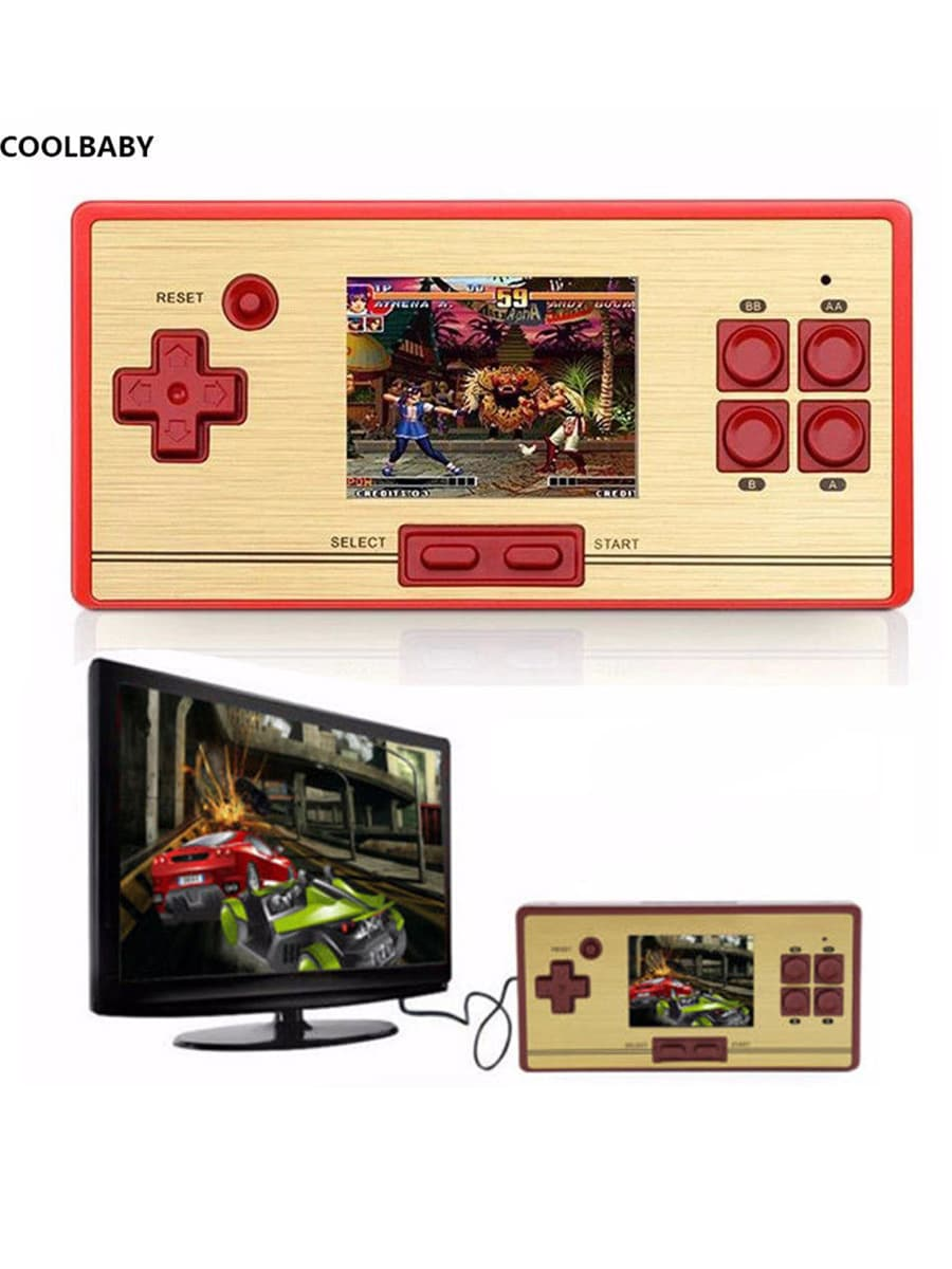 Coolbaby RS-20 FC Game Children Handheld Player Color Screen Video Game Console - 1