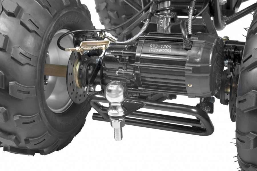Hecht 56150 Blue Quad Akumulatorowy Samochód Terenowy Auto Jeździk Pojazd - 12