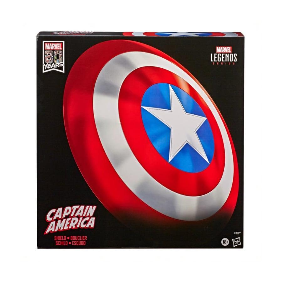 Captain America Shield - Marvel Legends Series (80th Anniversary) - Hasbro Multi-Colored - 1