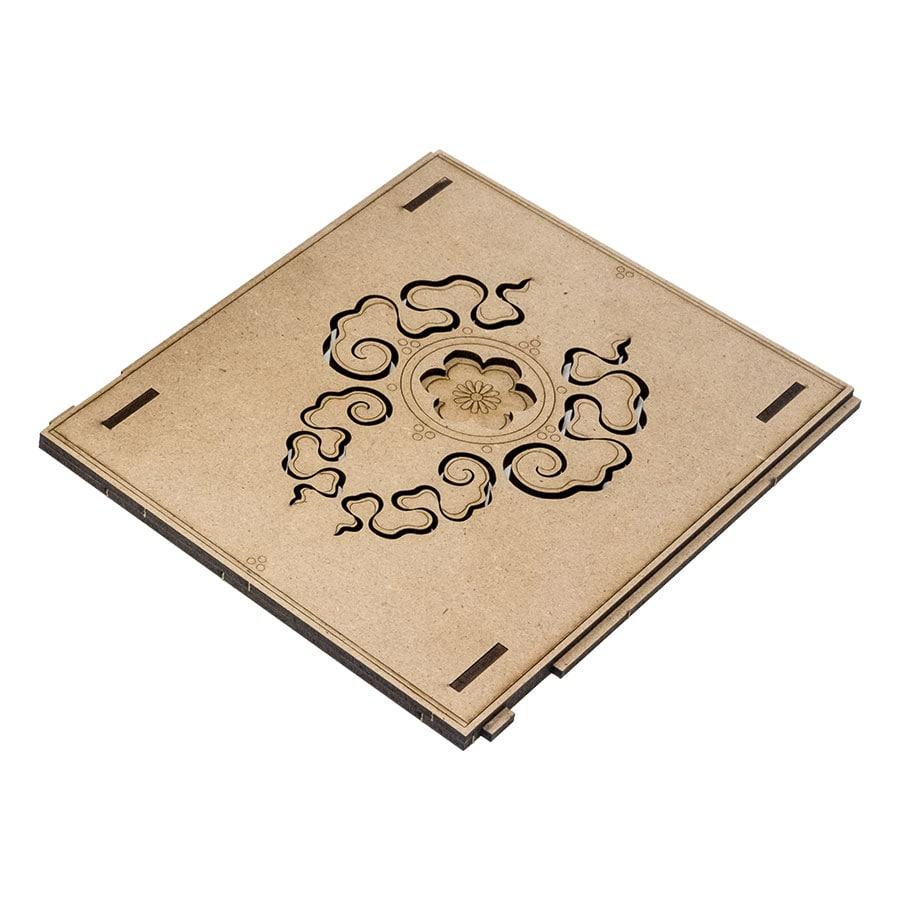 Deck holder (500 standard size sleeved cards) Cherry - 6