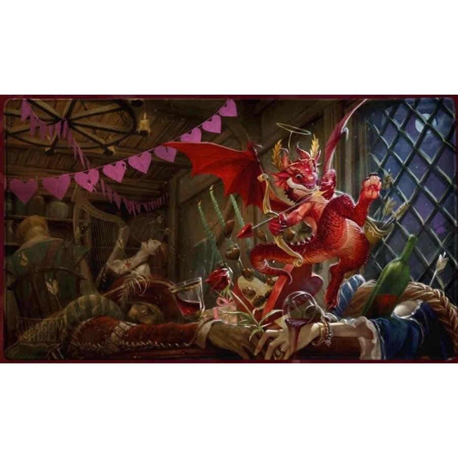 Dragon Shield - Playmat - Christmas Dragon - 1