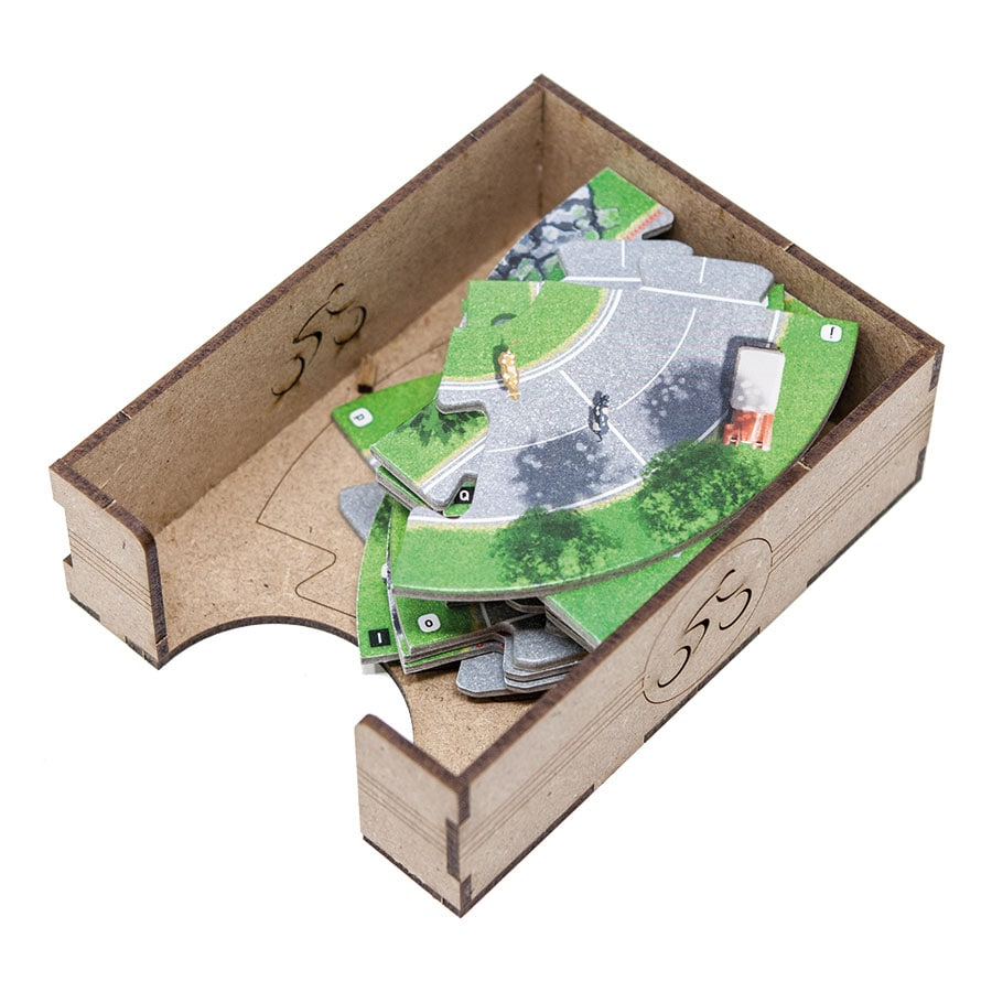 Flamme Rouge (base game or with Peloton expansion) Organizer Insert - 5