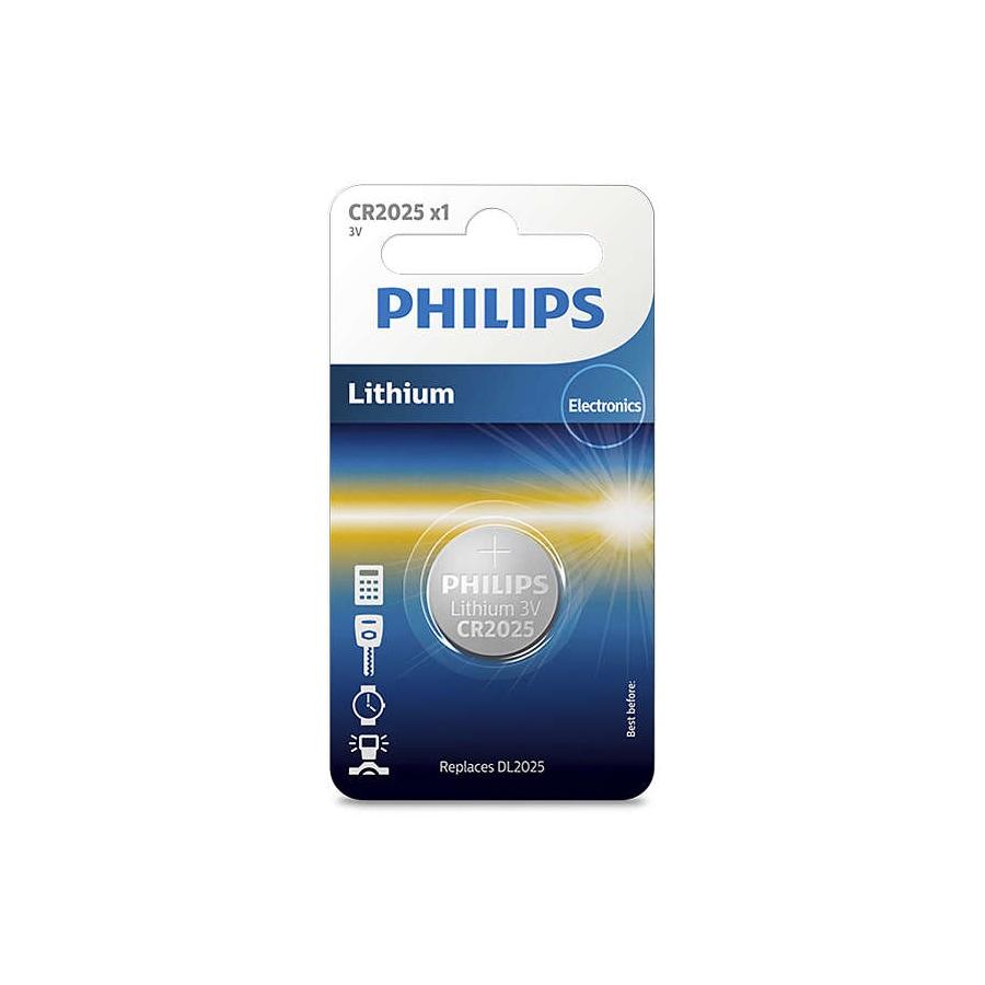 PHILIPS Bateria pastylkowa - LITOWA 3V 150MAH - 1